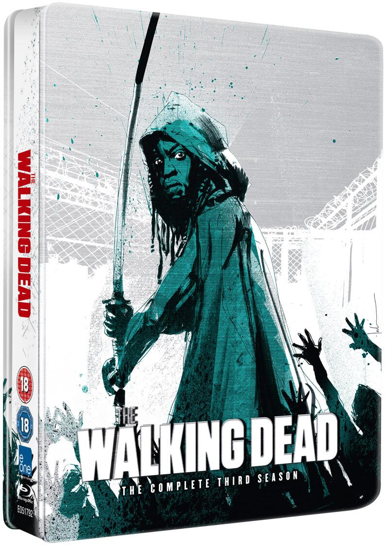 The Walking Dead Season 3 Limited Edition Steelbook