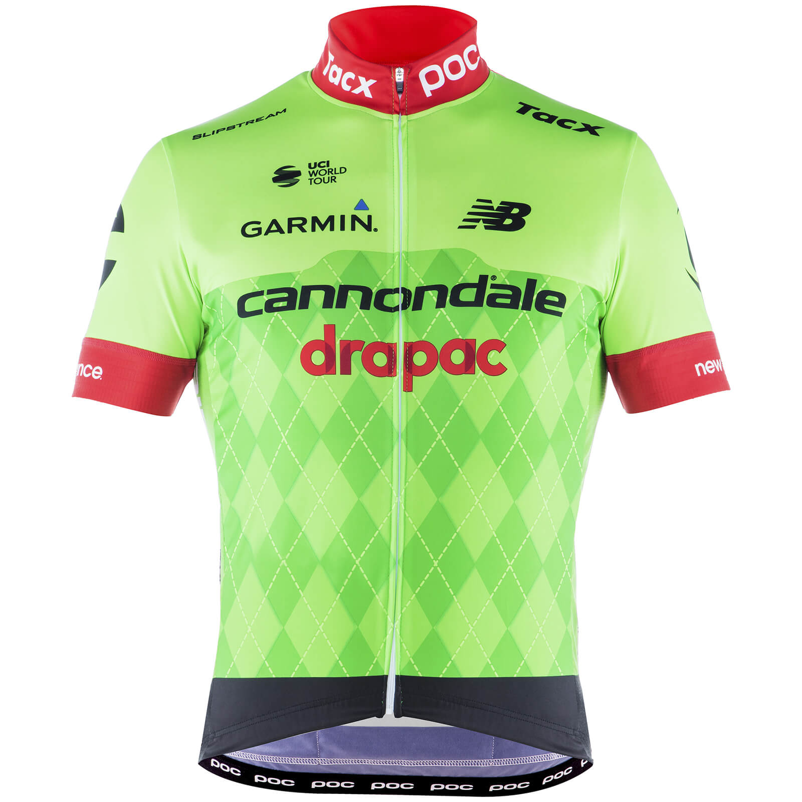 b1114c1dd POC Cannondale Drapac Replica Short Sleeve Jersey - Black Green Red ...