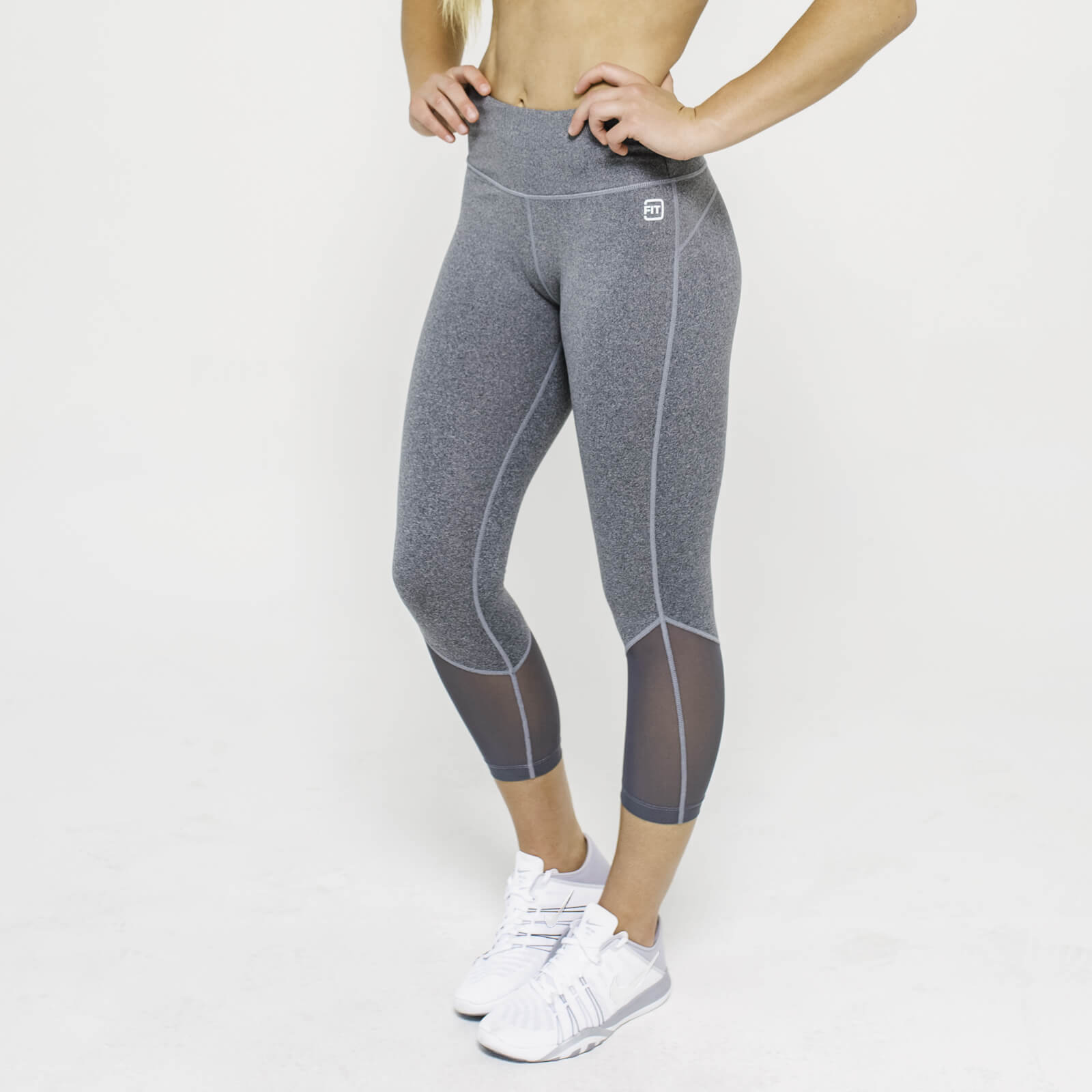 XS - IdealFit Core Capri - Grey