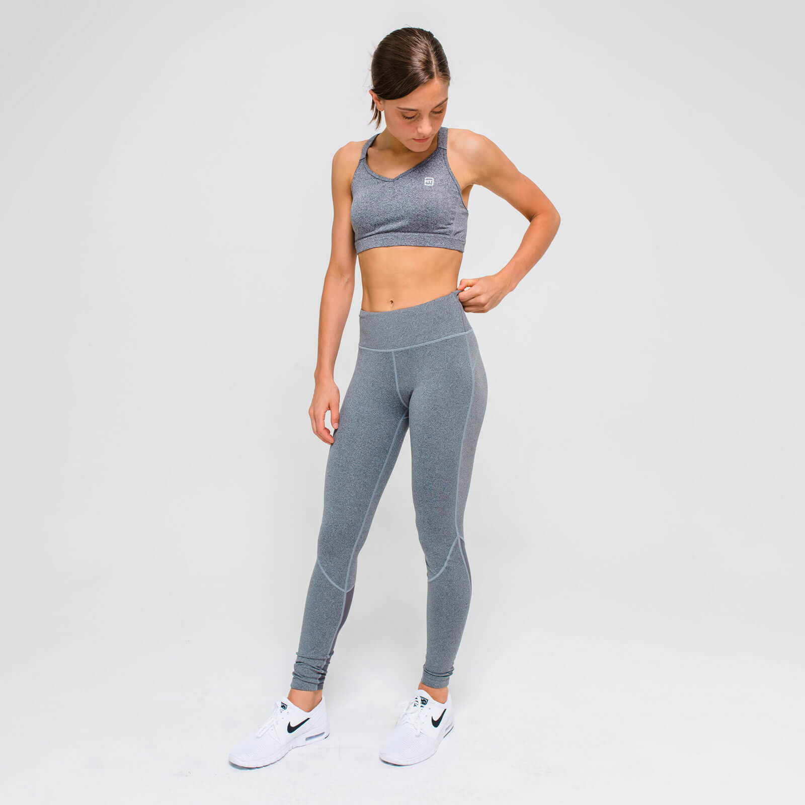 L - Core Full Length Leggings - Grey