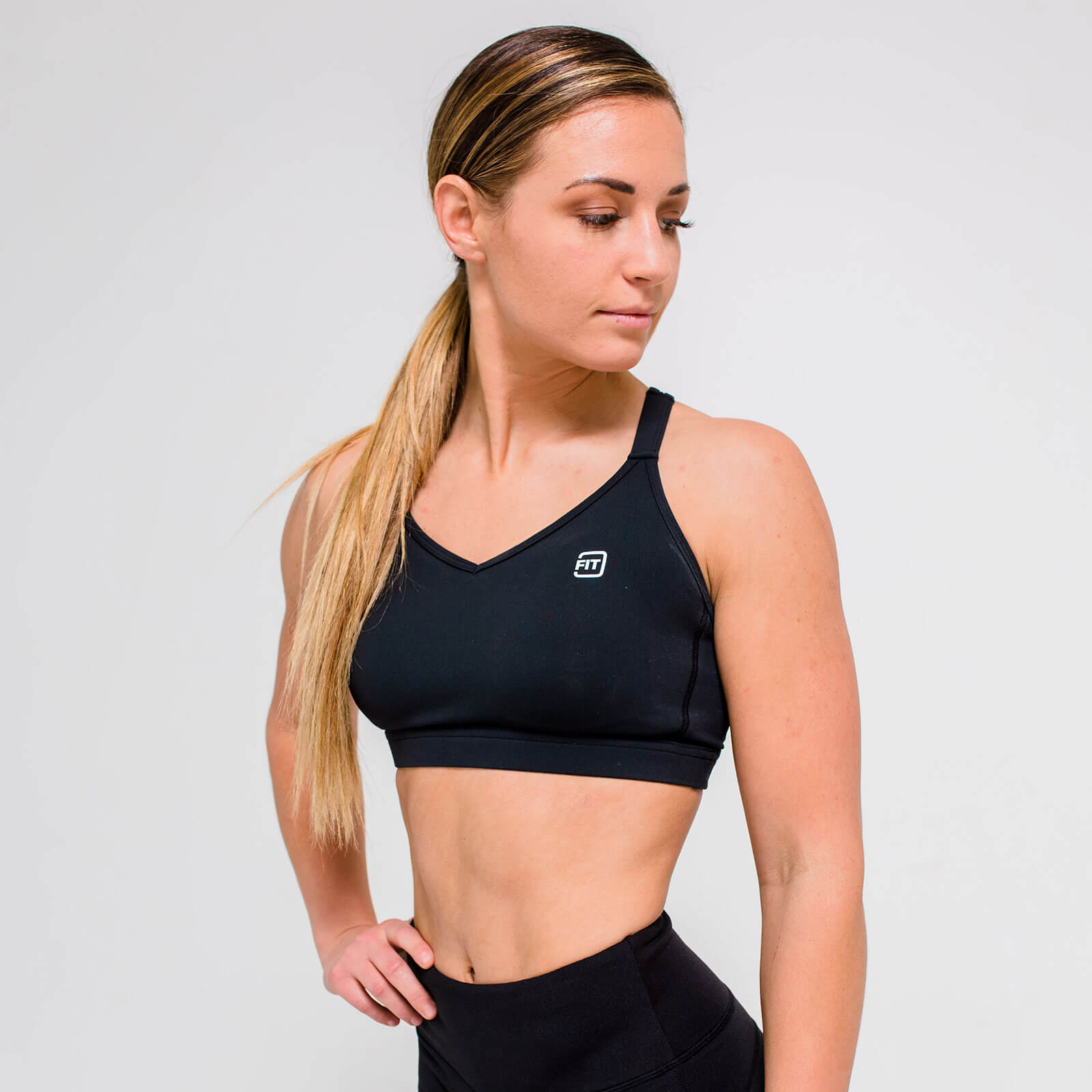 L - Core Sports Bra - Black