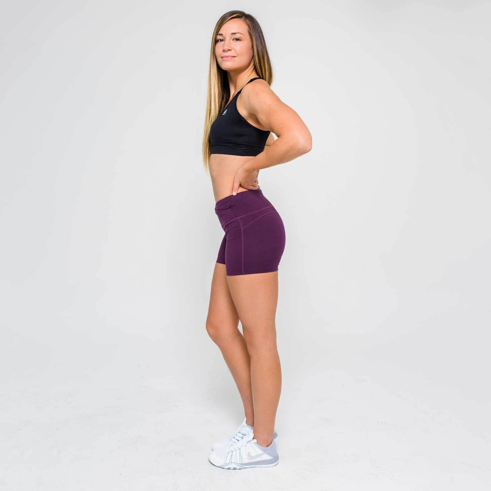L - Core Training Shorts - Dark Berry