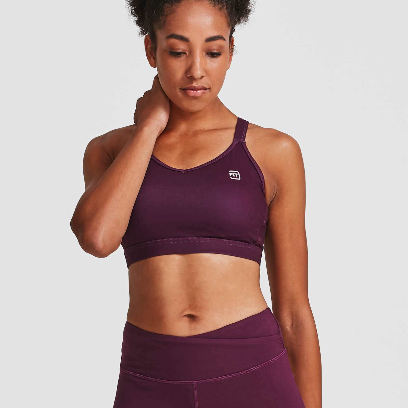 IdealFit Core Sports Bra - Dark Berry