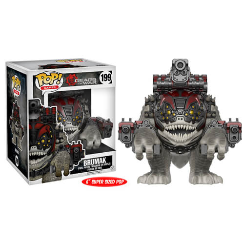 Gears Of War Brumak 6 Inch Pop Vinyl Figure Pop In A Box Us