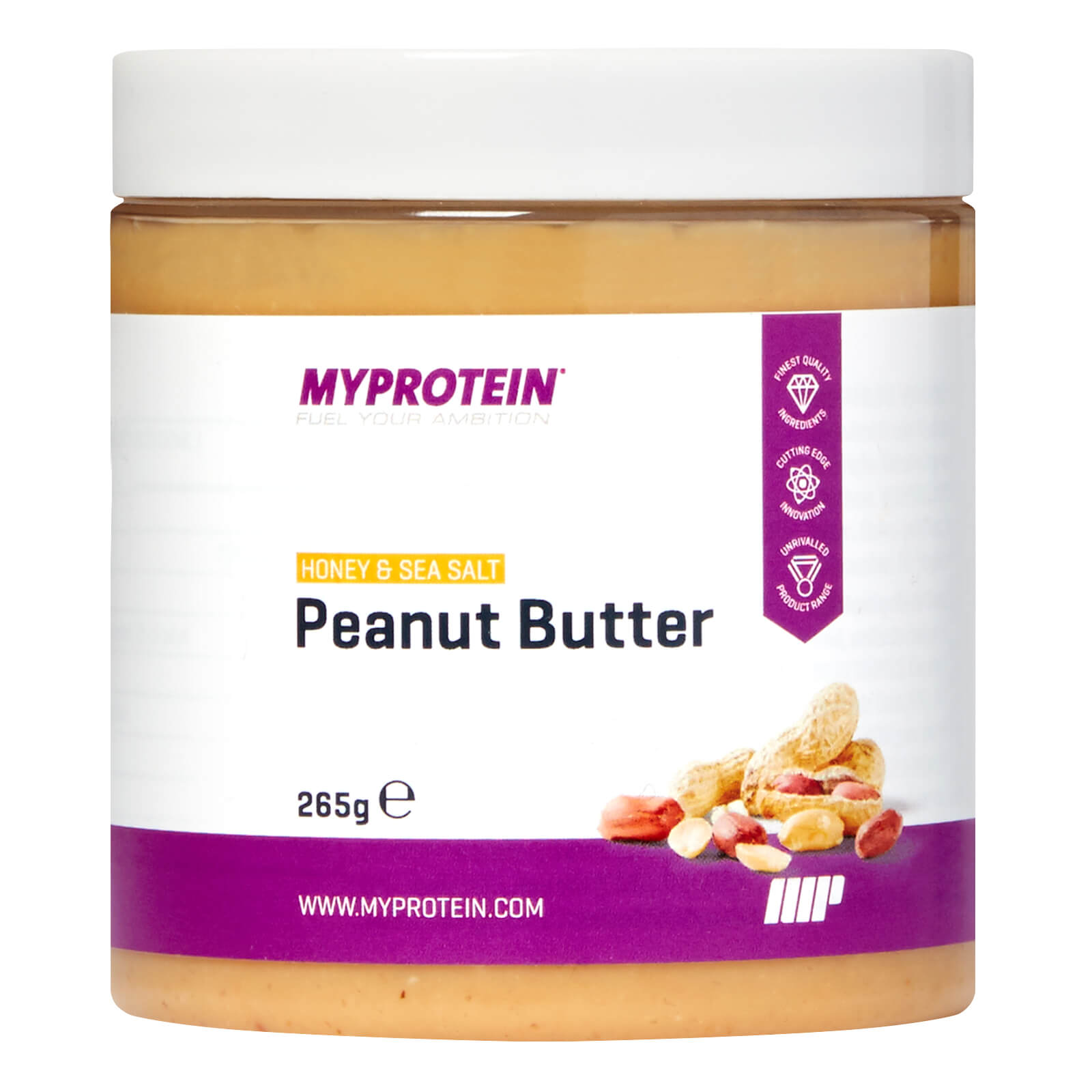 Active Women Nut Butter - Honey and Sea Salt, 265g