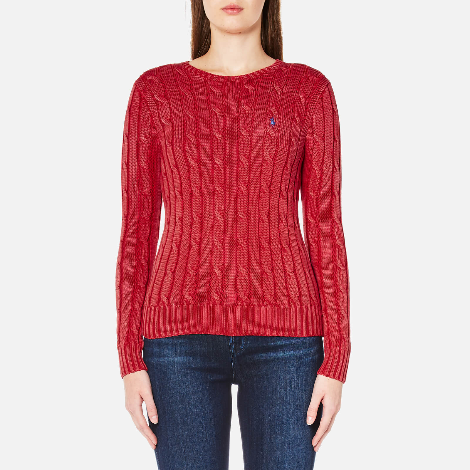 179b41415339 Polo Ralph Lauren Women's Julianna Jumper - Faded Red - Free UK Delivery  over £50