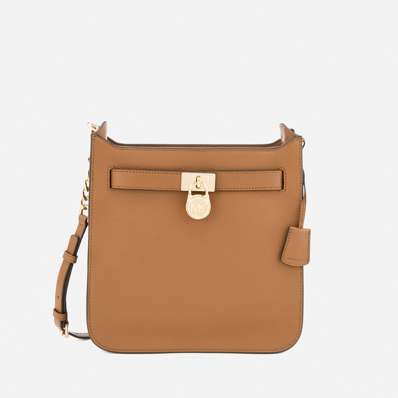 6240553d1efe5 MICHAEL MICHAEL KORS Women s Hamilton Medium North South Messenger Bag -  Acorn - Free UK Delivery over £50