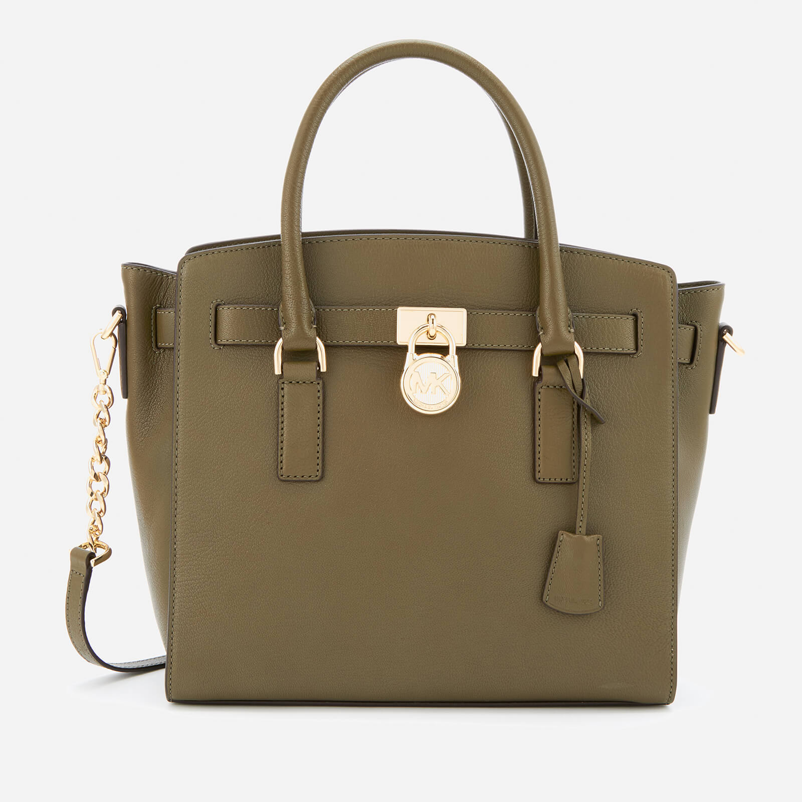 f1fb091b9b8f ... MICHAEL MICHAEL KORS Women s Hamilton Large East West Satchel - Olive