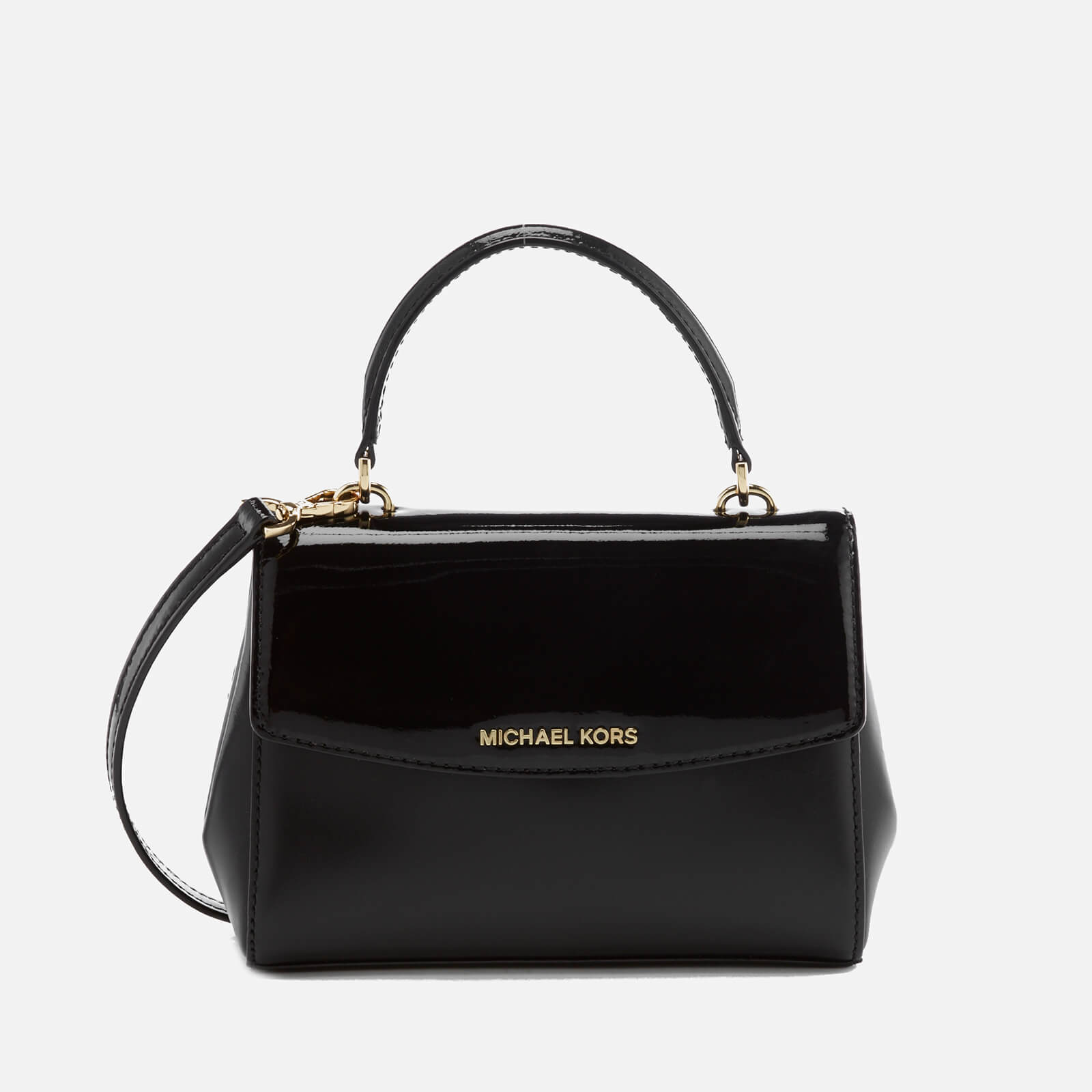 87f45d0095db9d ... MICHAEL MICHAEL KORS Women's Ava Extra Small Cross Body Bag - Black