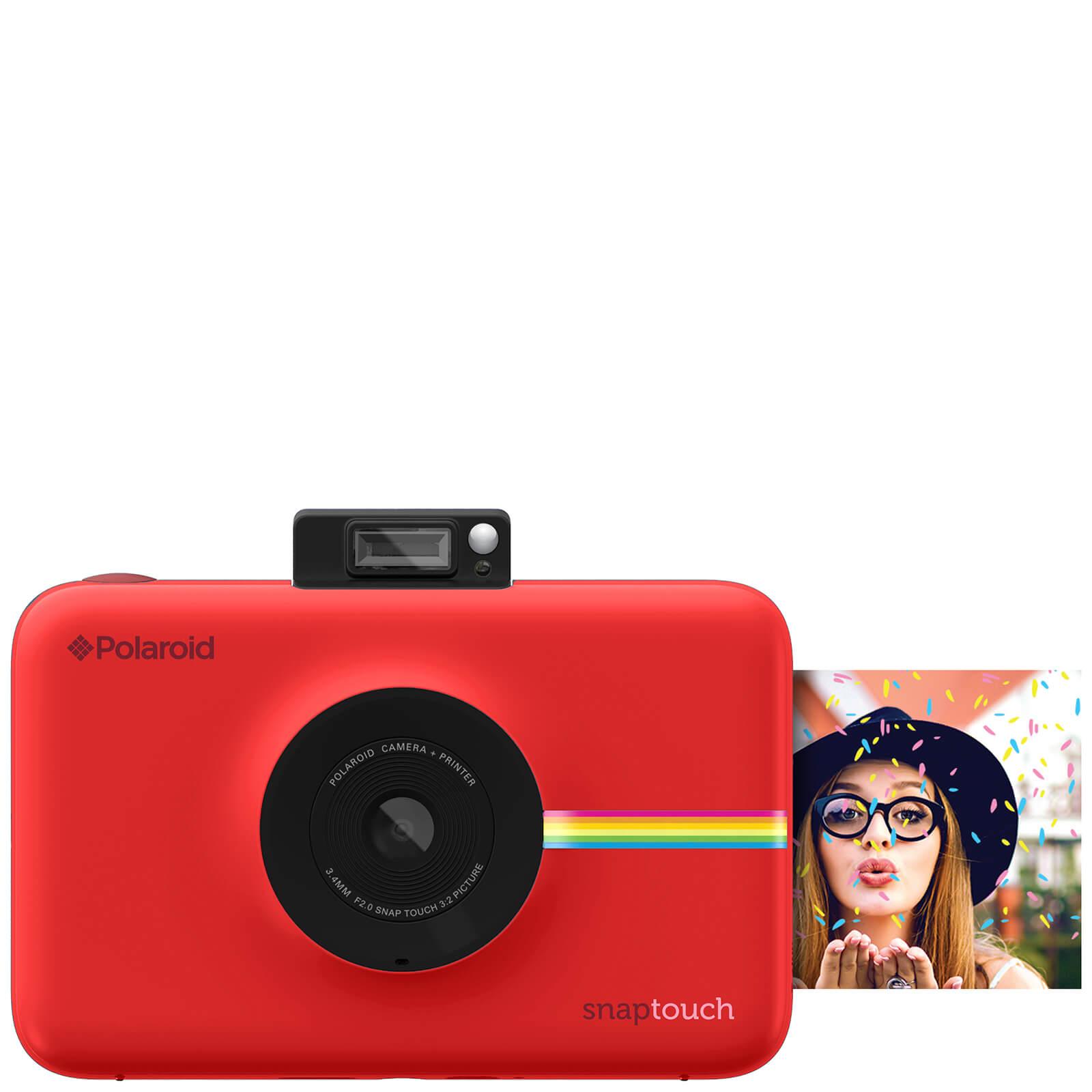 polaroid schnappschuss sofortdruck digitalkamera mit lcd display rot sowia. Black Bedroom Furniture Sets. Home Design Ideas