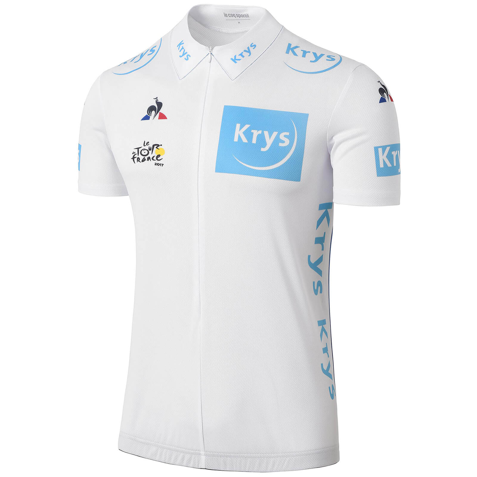 Le Coq Sportif Tour de France 2017 Young Riders Classification Official Jersey - White