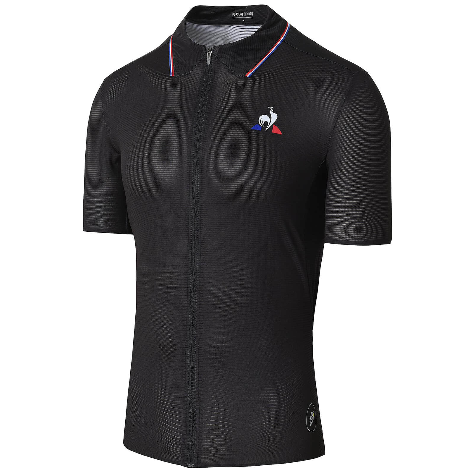 Le Coq Sportif TDF Signature Ultra Light Jersey - Black