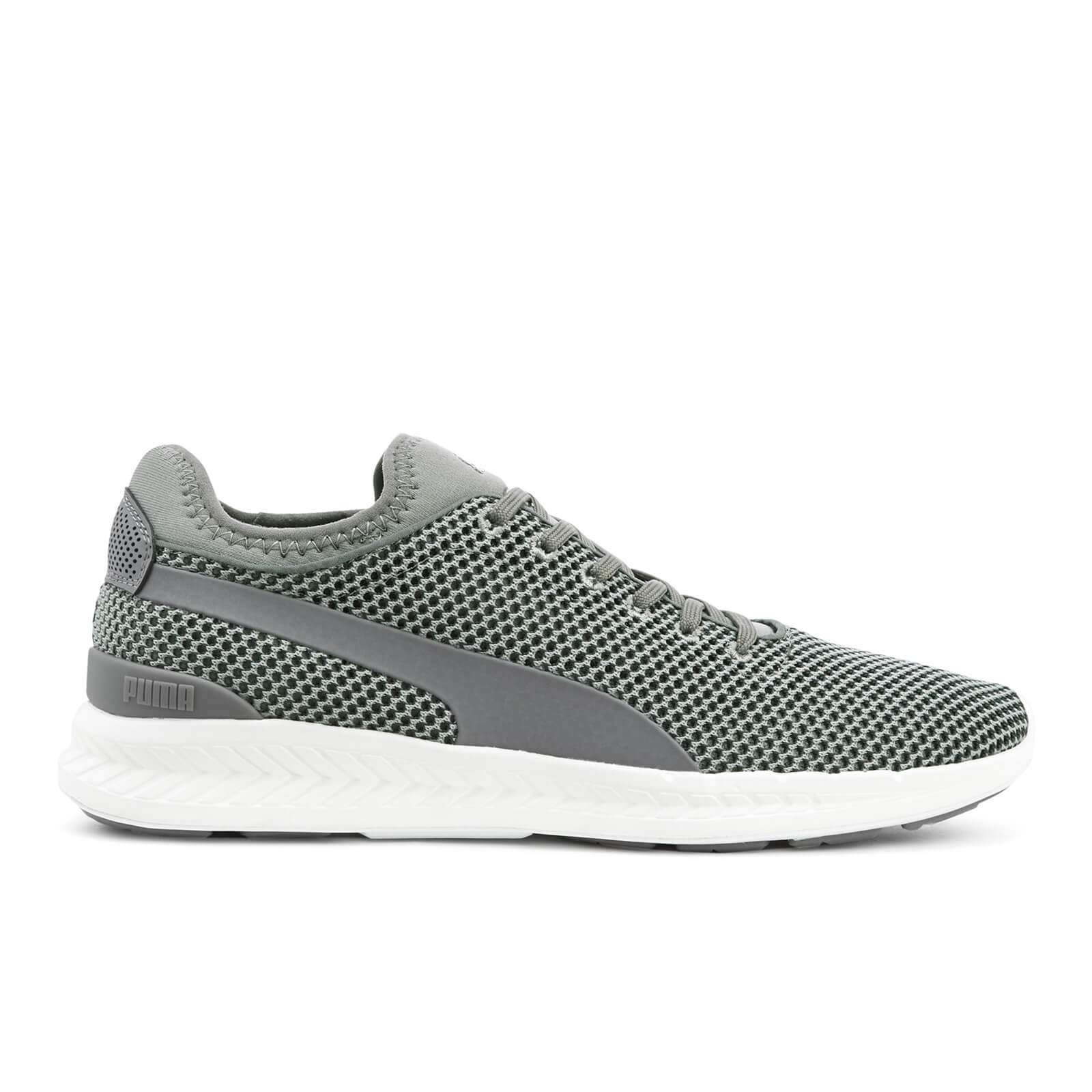 Baskets Homme Running Ignite Sock Puma - Gris/Blanc