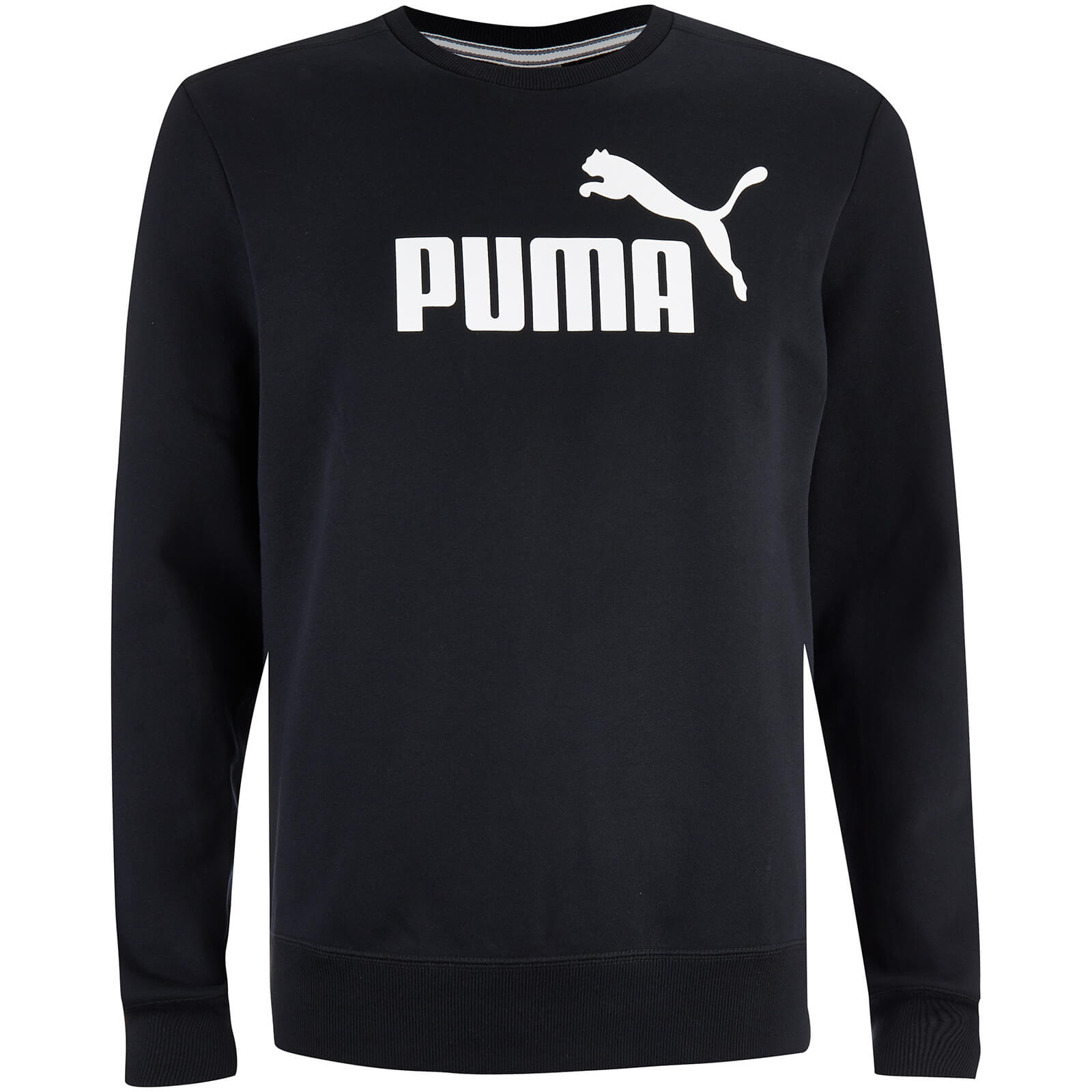 Sweater Essential Col Rond Puma -Noir