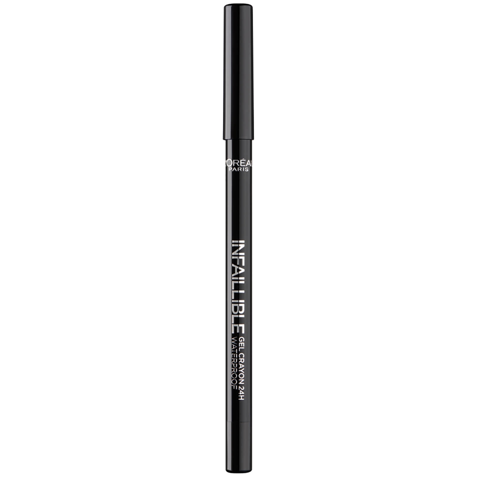 f73bd25baed L'Oréal Paris Infallible Crayon Eyeliner - 01 Back to Black | Free Shipping  | Lookfantastic