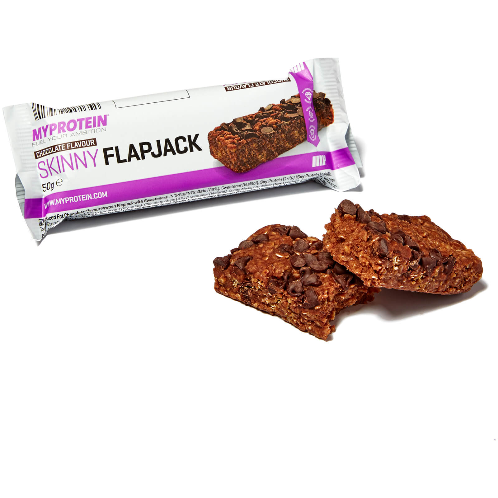 Skinny Flapjack, 50g (Sample) Chocolate