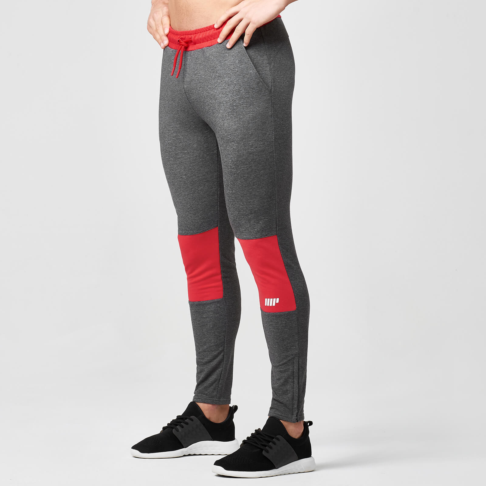 Superlite Slim Fit Joggers - Red - L