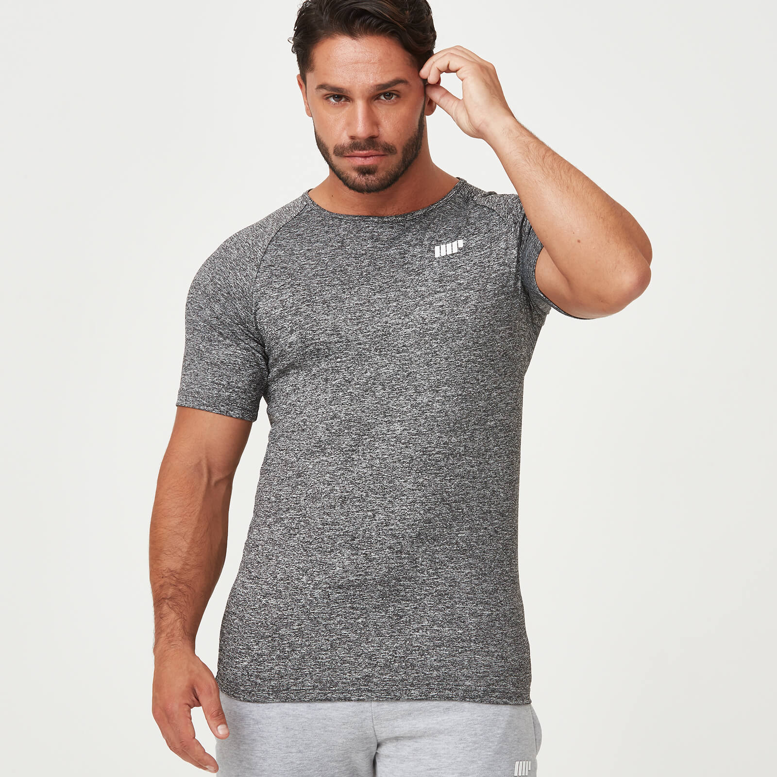Myprotein Dry Tech T-Shirt - Charcoal Marl - S