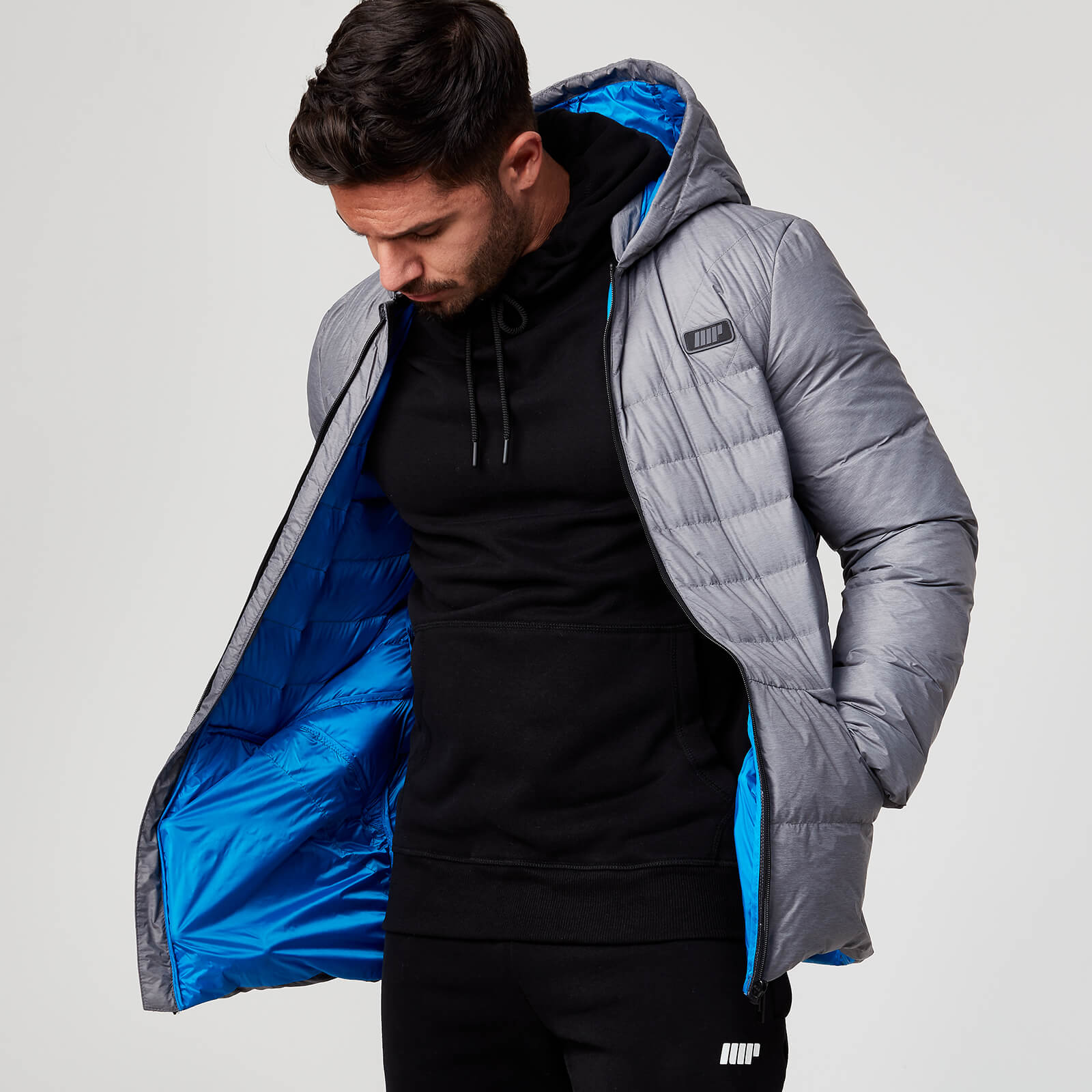 Myprotein Pro Tech Heavyweight Puffer - Grey - S