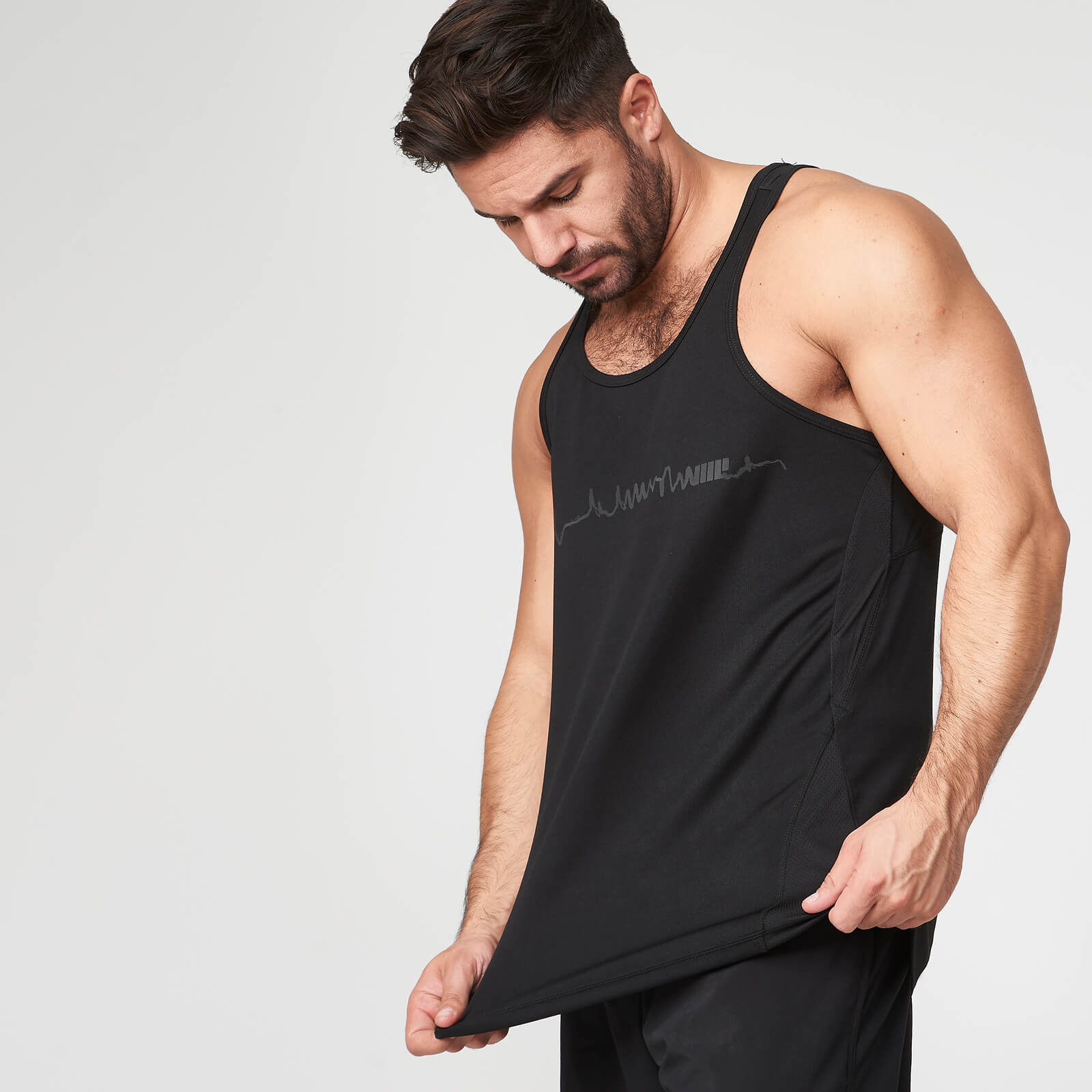 Myprotein Element Tank - Black - XL