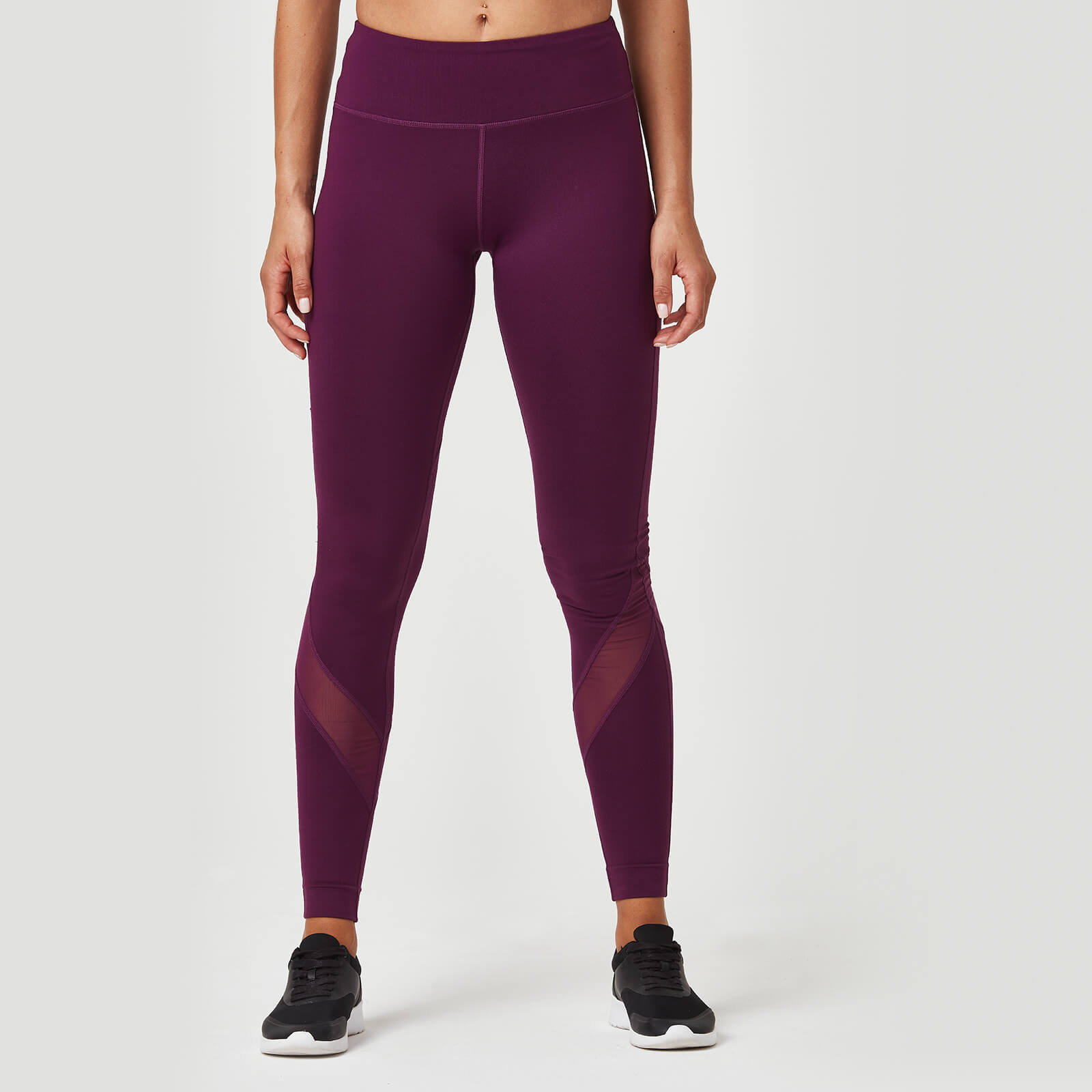 Myprotein Heartbeat Full Length Leggings - Plum - XS