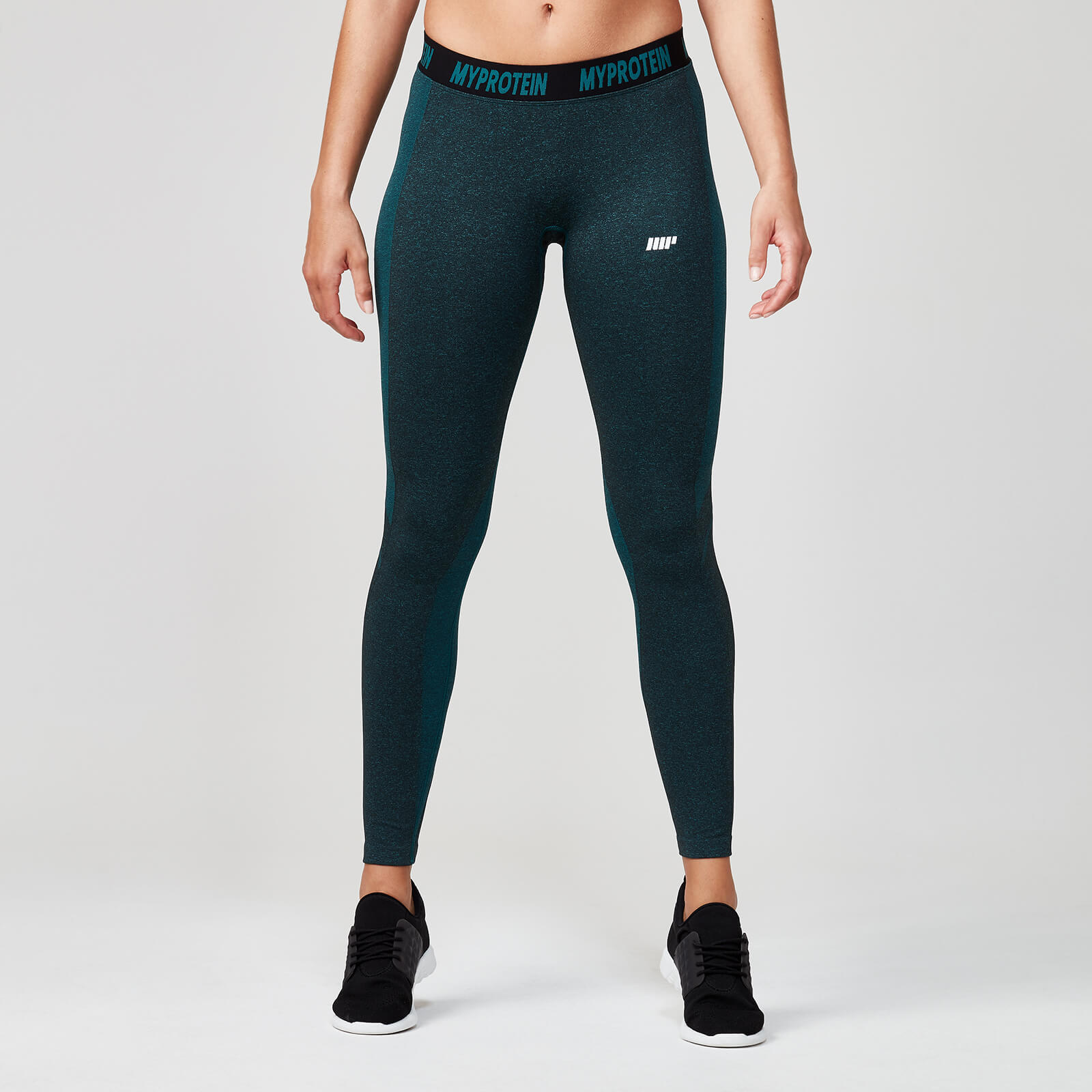 Myprotein Seamless Leggings - Marble Green - XS