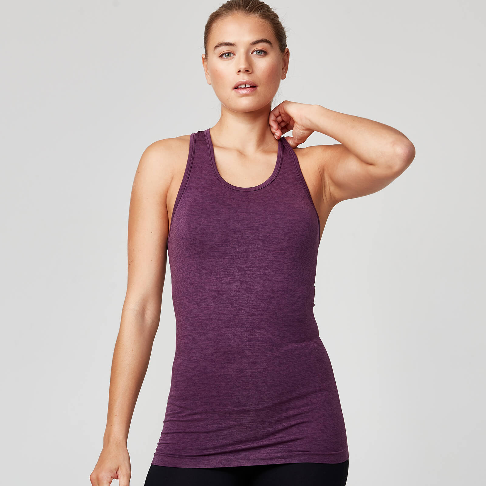 Seamless Vest - Dark Berry - XS