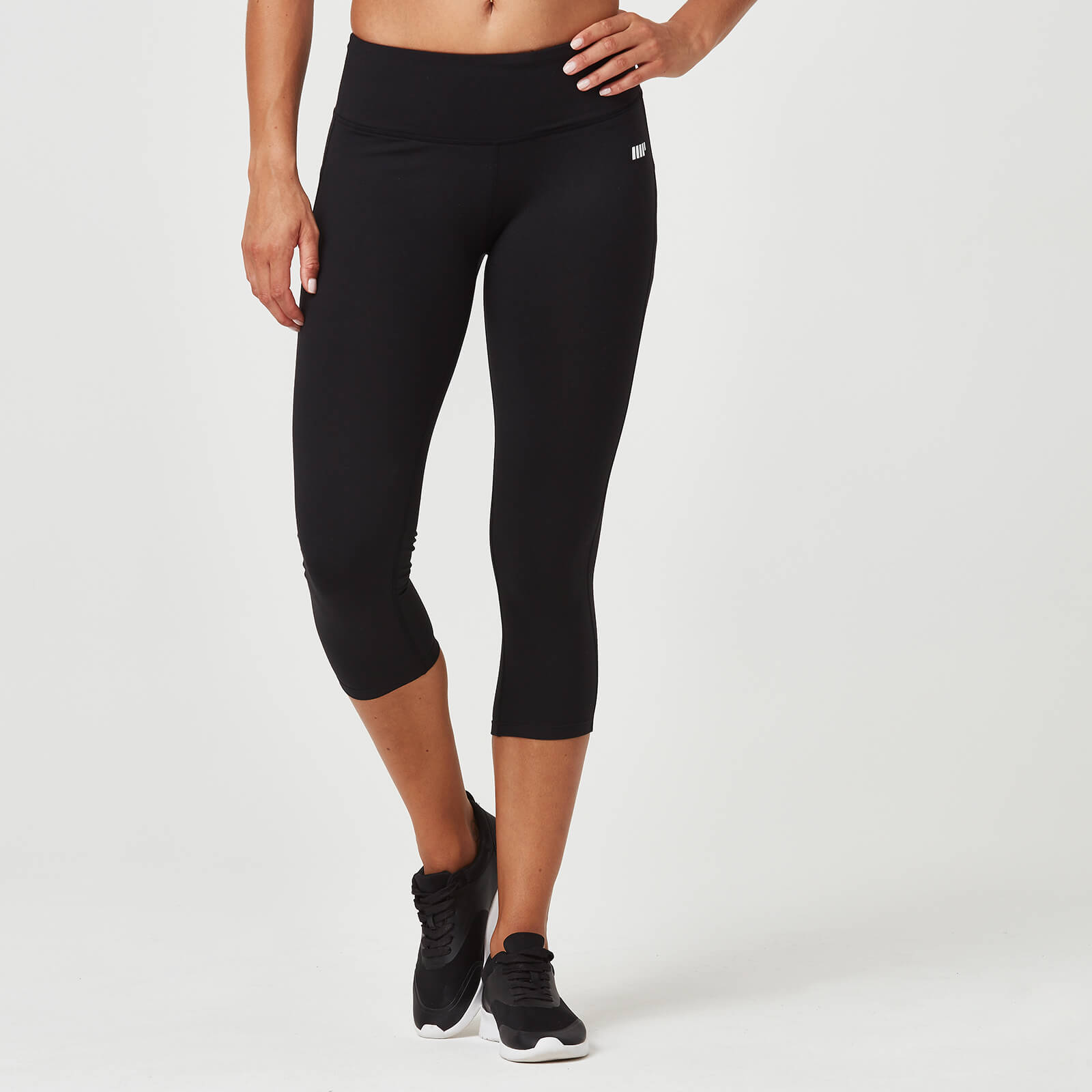 Classic Heartbeat 7/8 Leggings - Black - XS