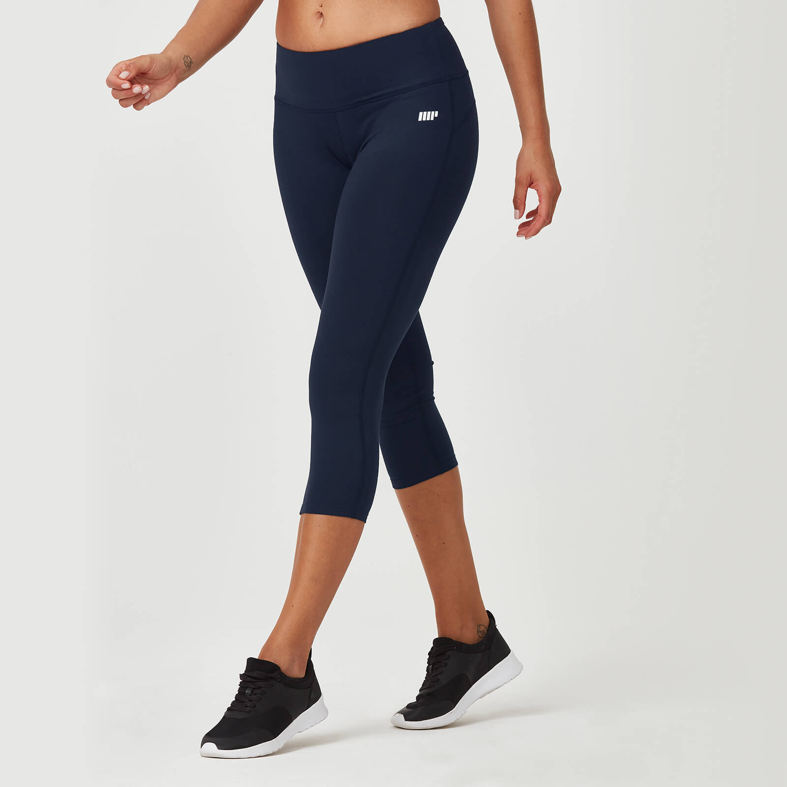 Myprotein Classic Heartbeat 7/8 Leggings - Navy - XS