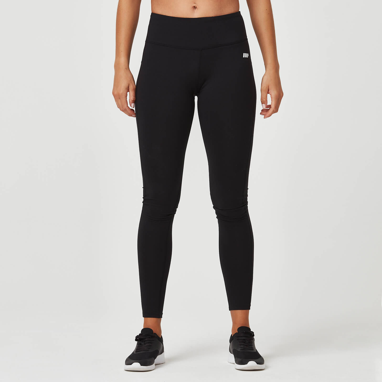 Myprotein Classic Heartbeat Full Length Leggings - Black - XS
