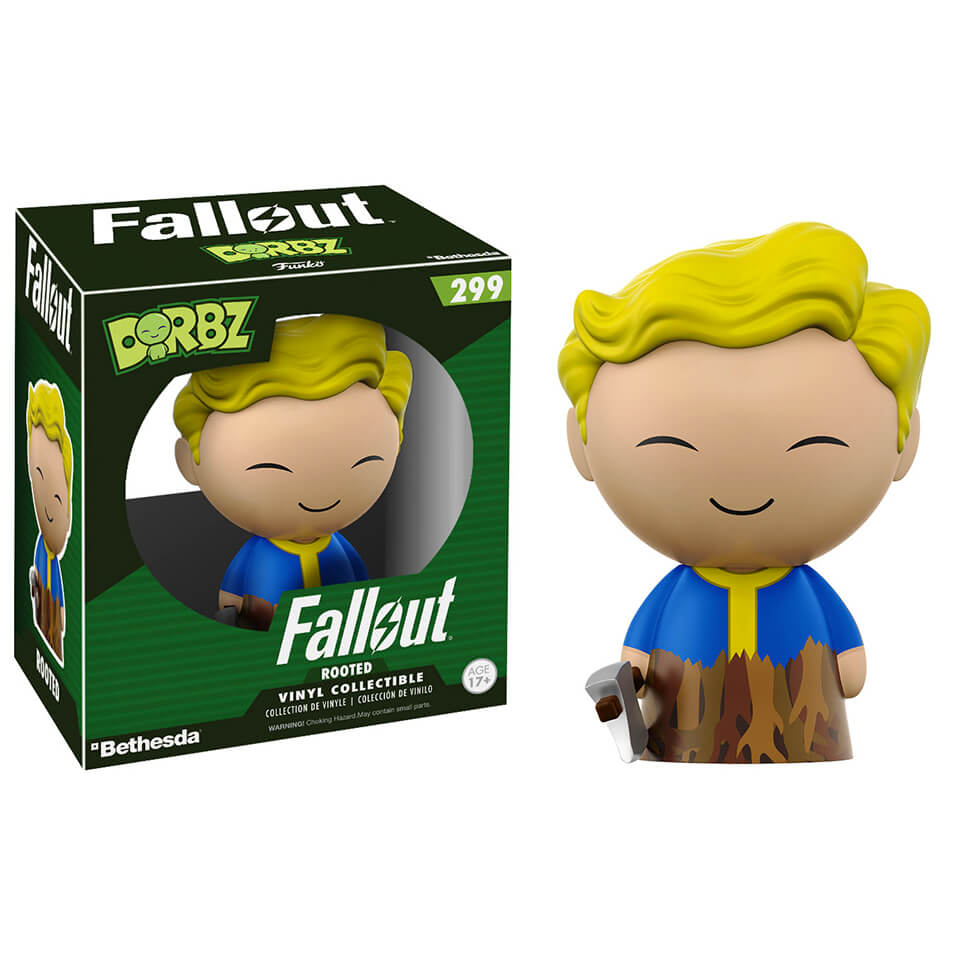 Figurine Dorbz Rooted Fallout Vault Boy