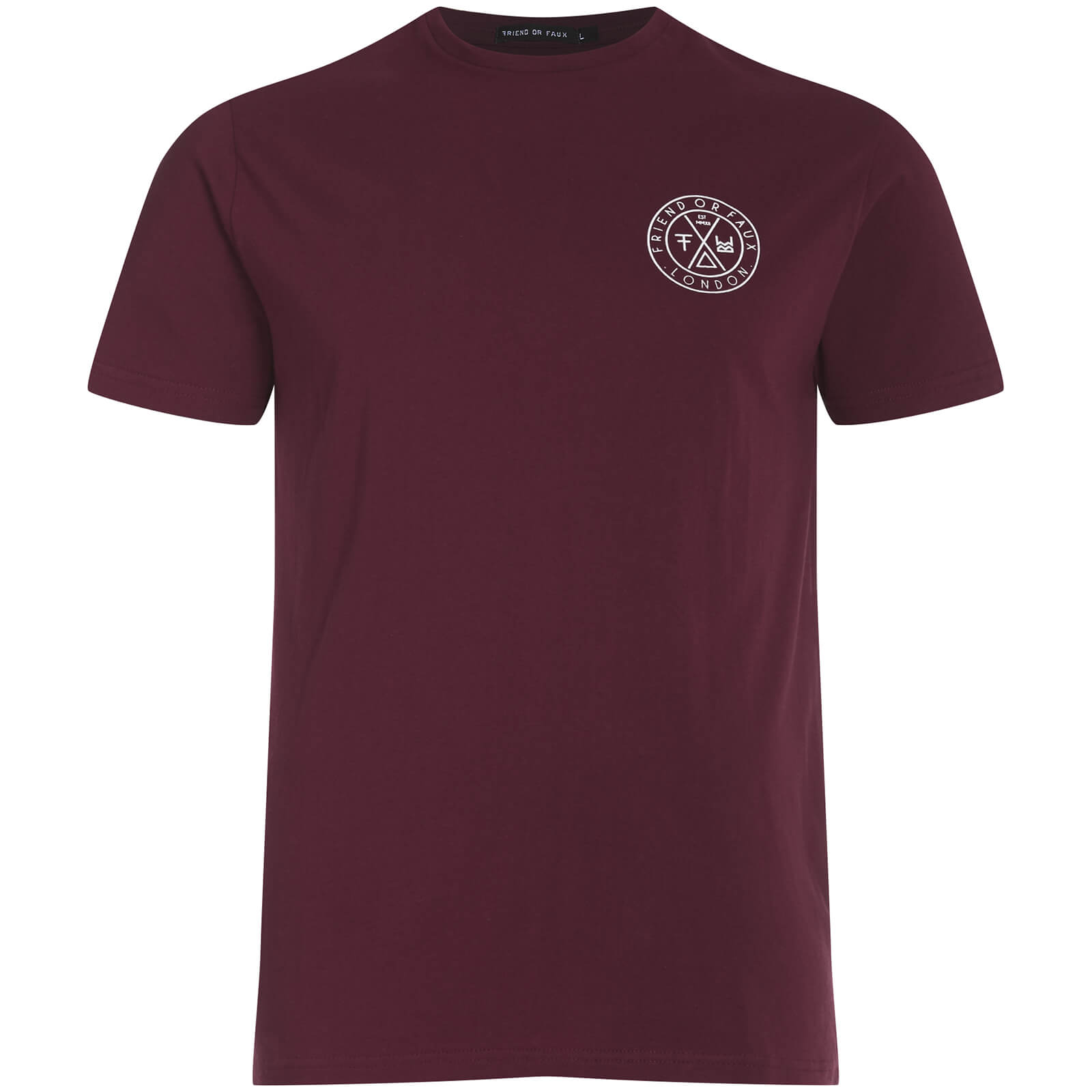 T-Shirt Homme Tremer Friend or Faux -Bordeaux