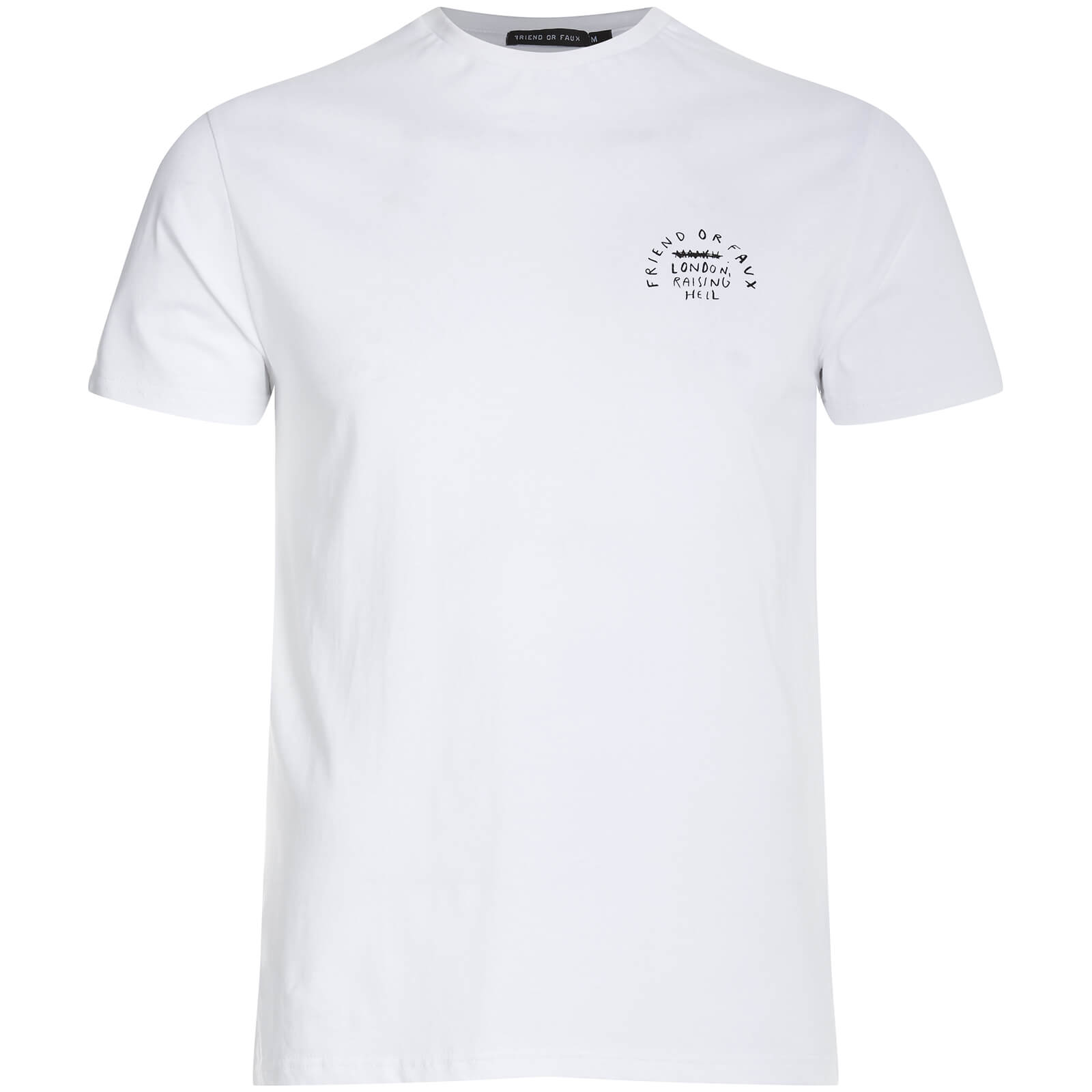 T-Shirt Homme Sky Rat Friend or Faux -Blanc