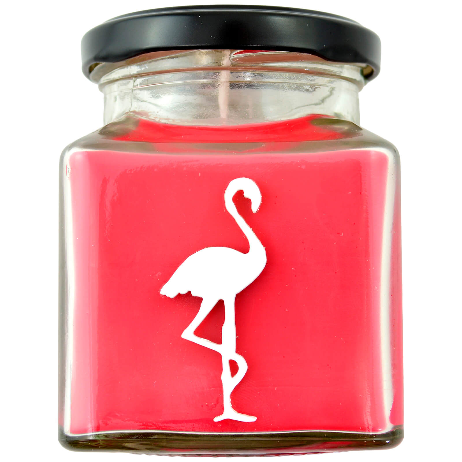 Strawberries and Champagne Flamingo Candle