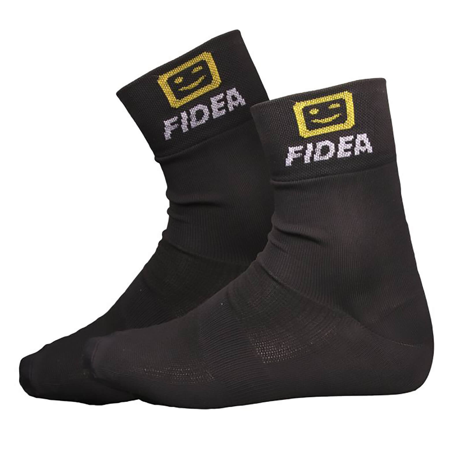 Telenet Fidea Socks - Black/Yellow/White