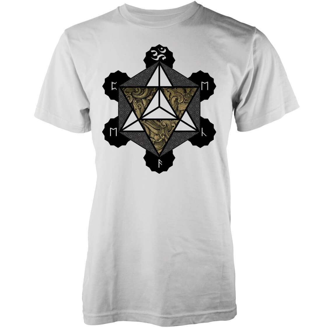 T-Shirt Homme Metatron Abandon Ship - Blanc