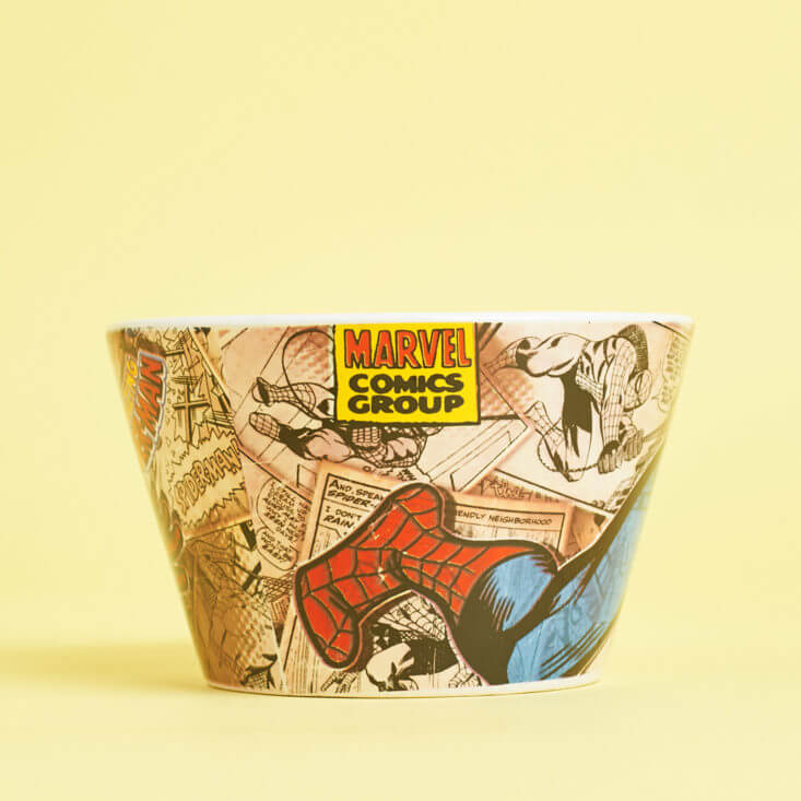 Marvel Spider-Man Porcelian Bowl