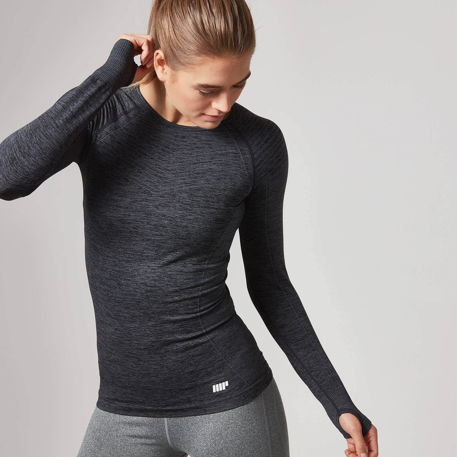 Myprotein Curve Seamless Long Sleeve T-Shirt