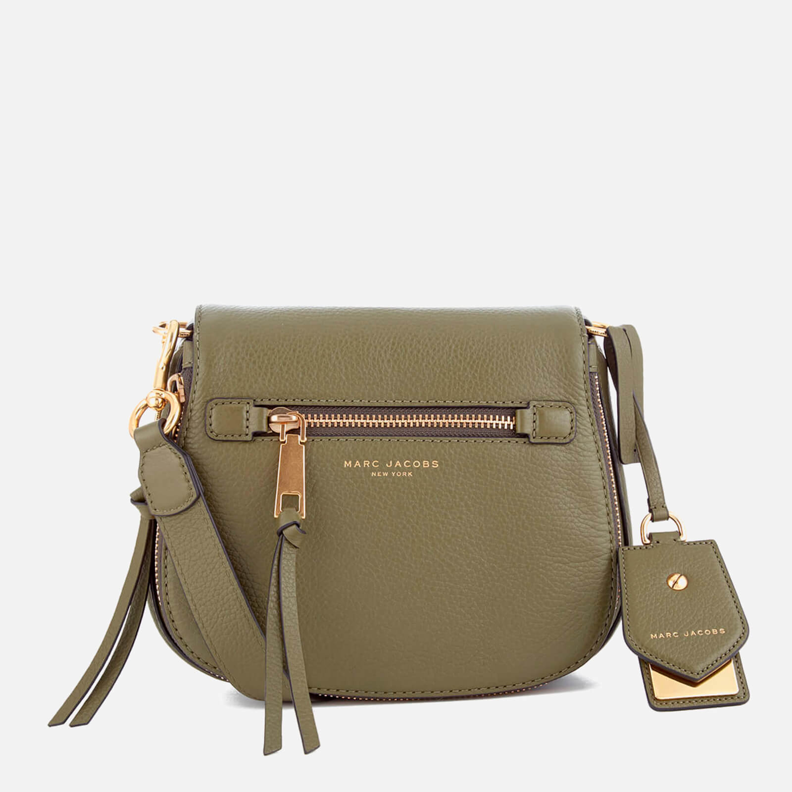 8a508d5623784 Marc Jacobs Women s Recruit Small Nomad Saddle Bag - Army Green - Free UK  Delivery over £50