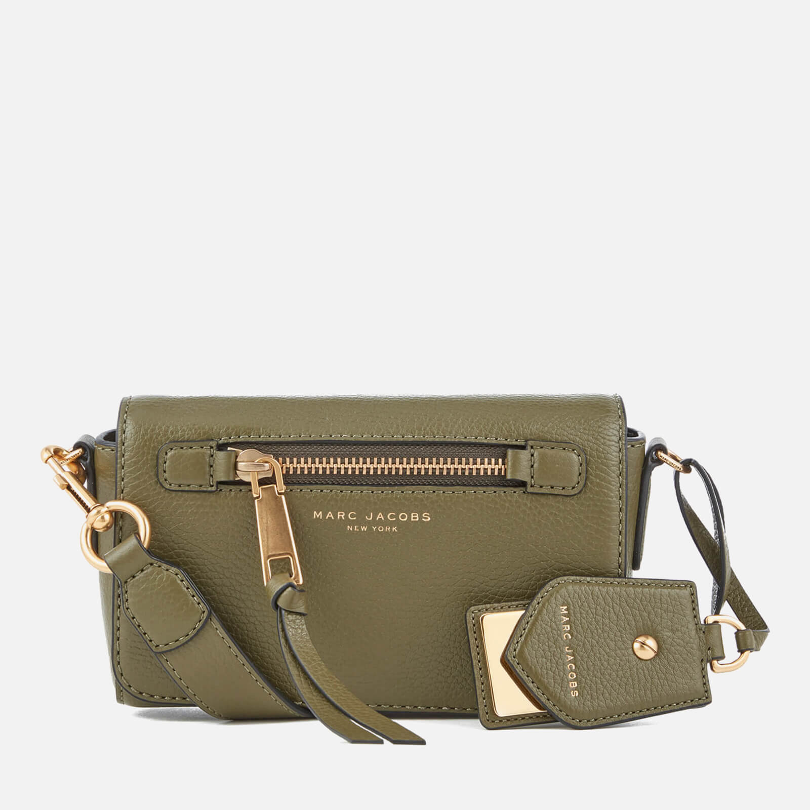 95d1ab782dd7 Marc Jacobs Women s Recruit Cross Body Bag - Army Green - Free UK Delivery  over £50
