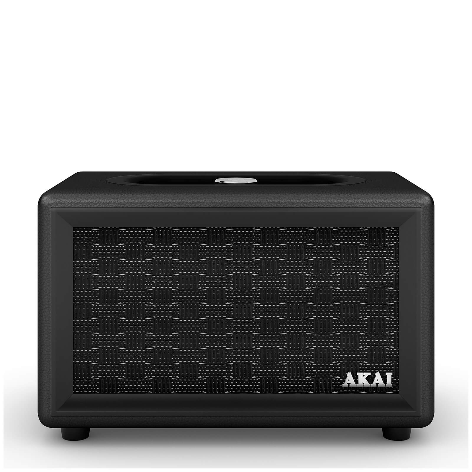 Akai Retro Bluetooth Speaker (2 x 20W) - Black
