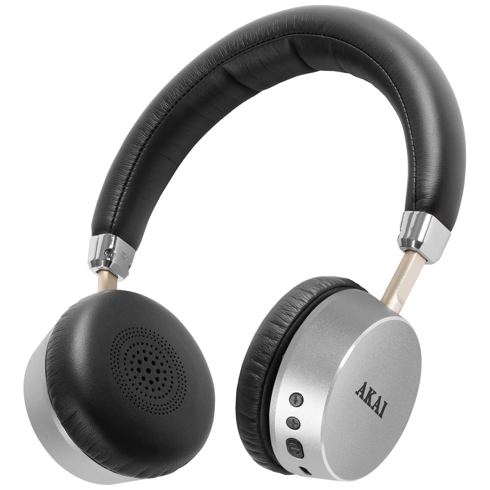 Akai DYNMX Wireless Bluetooth Headphones - Silver