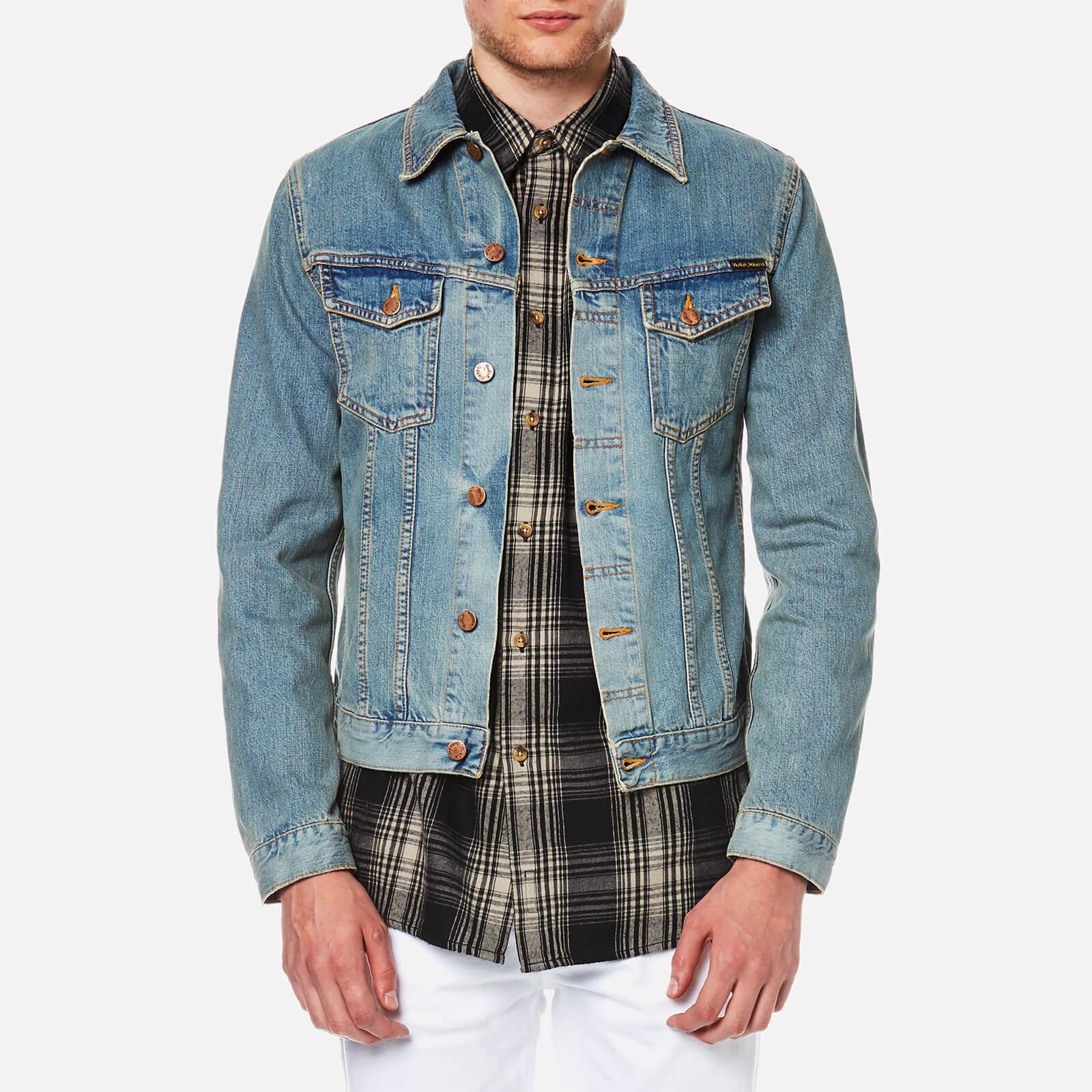 13175f359a Nudie Jeans Men s Billy Trucker Jacket - Worn Clean - Free UK ...