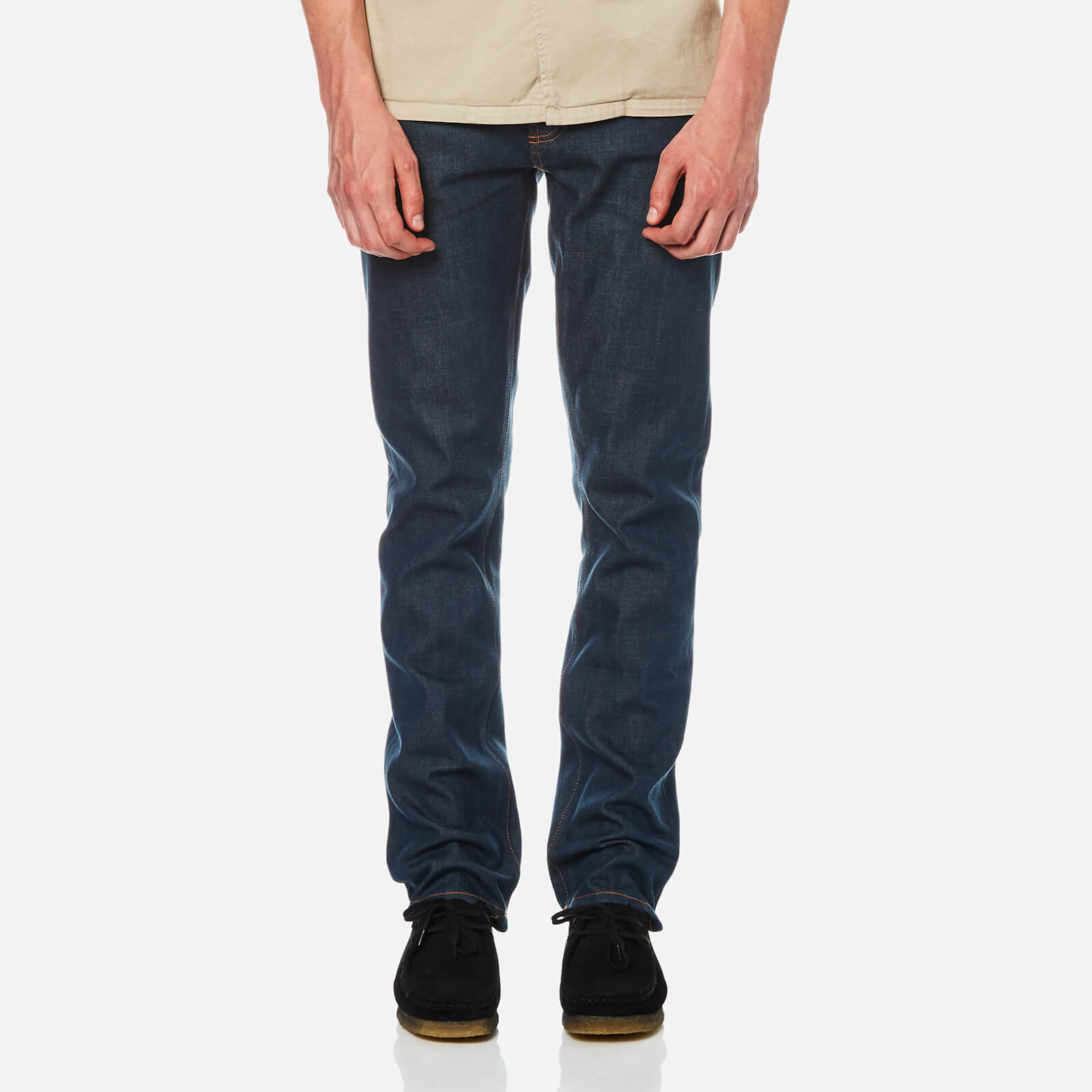 8889cab90e04 Nudie Jeans Men s Grim Tim Jeans - Dry Shiga Selvage - Free UK Delivery over  £50
