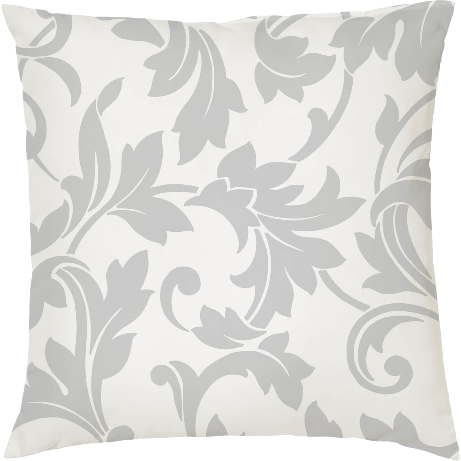 Regal Reverse Cushion - White (45 x 45cm)