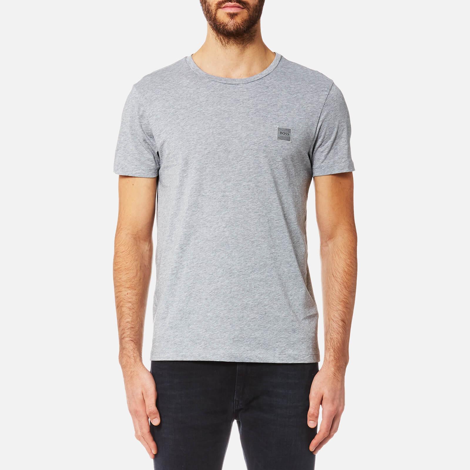 df166fdc9 BOSS Orange Men's Tommi Crew Neck T-Shirt - Medium Grey - Free UK Delivery  over £50