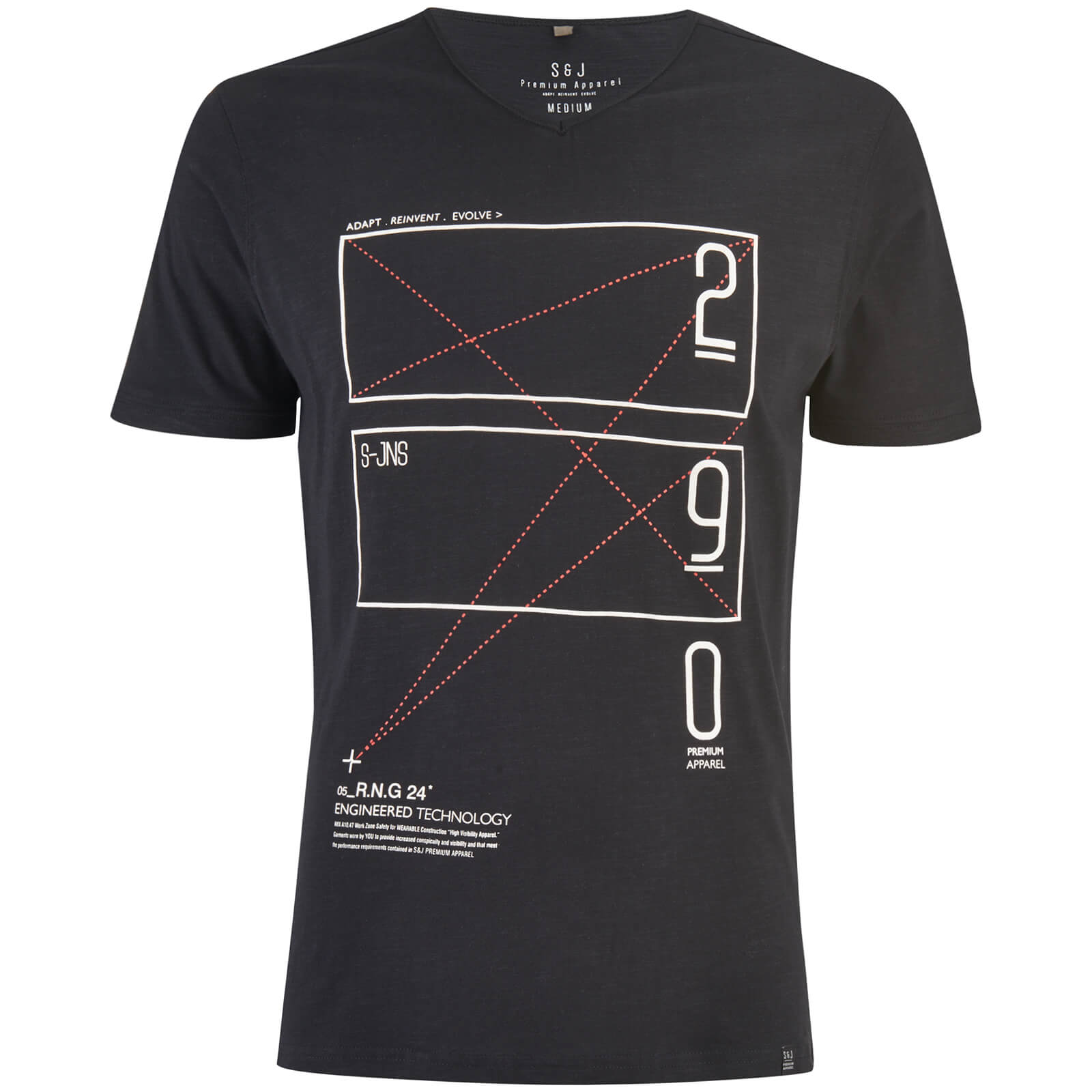 T-Shirt Homme Kapola Smith & Jones -Noir