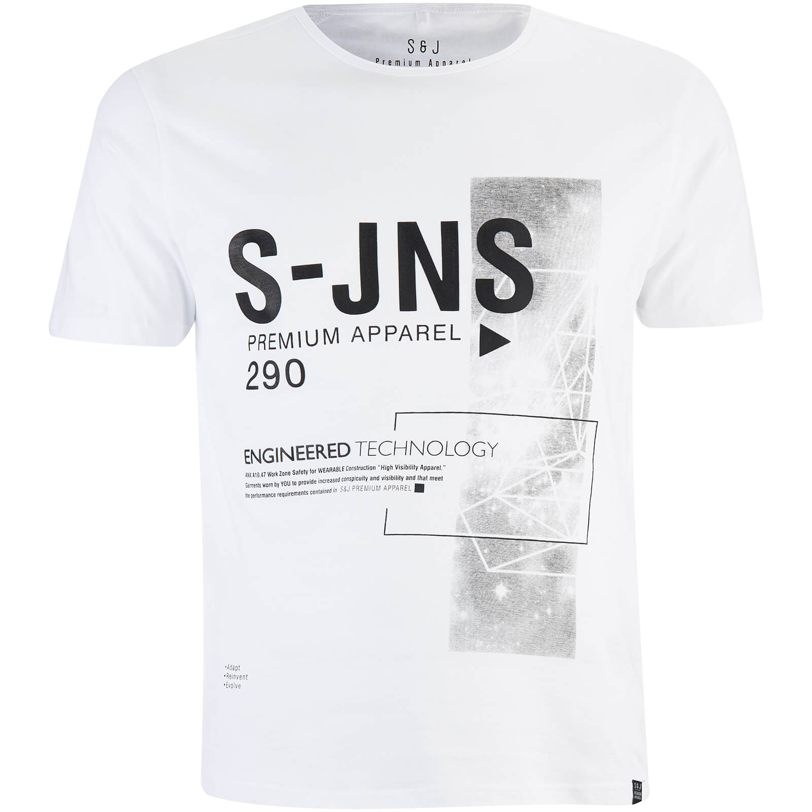 Camiseta Smith & Jones Langchor - Hombre - Blanco