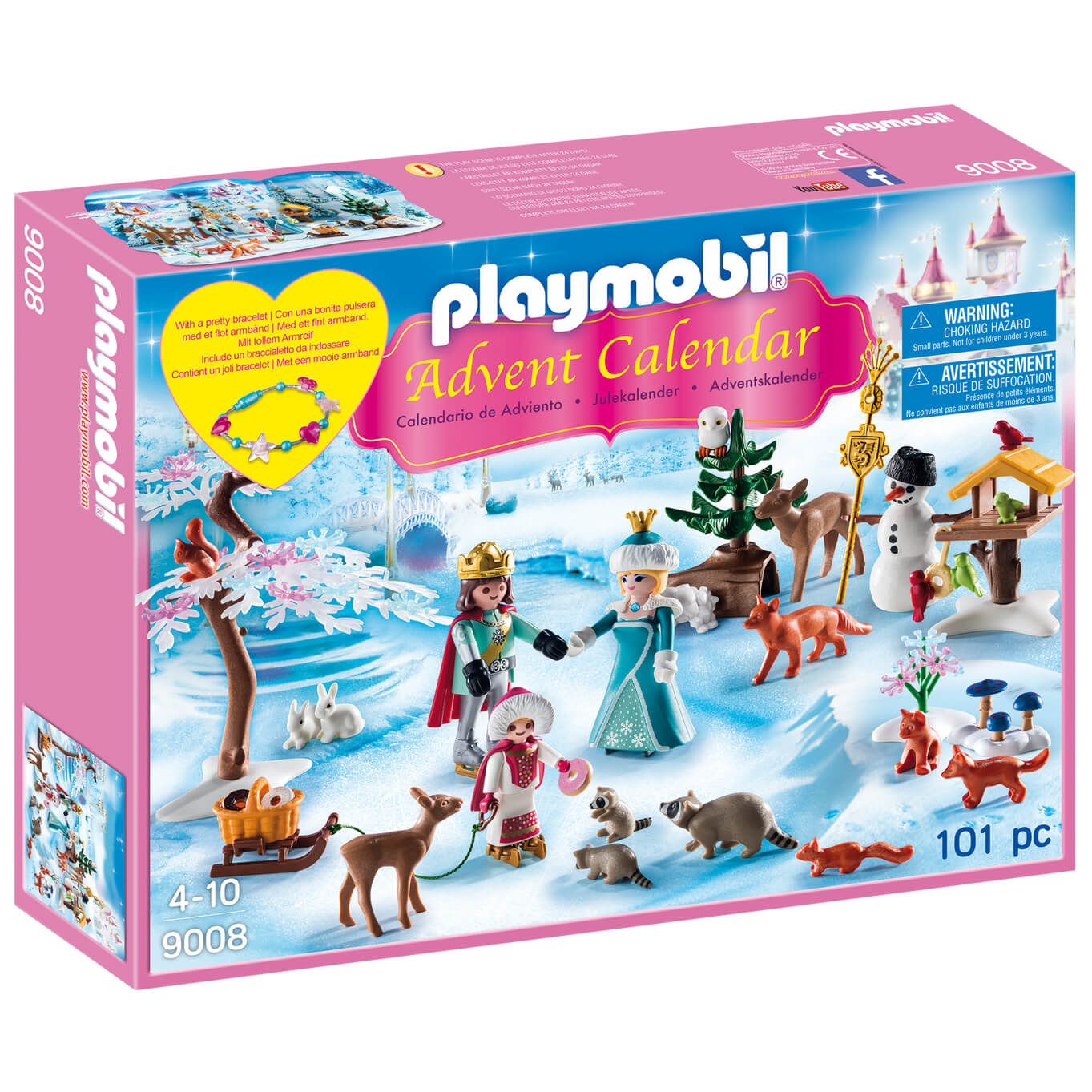 Playmobil Royal Ice Skating Trip Advent Calendar with Children