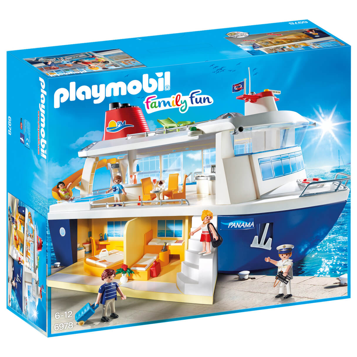 Playmobil Family Fun Cruise Ship (6978)